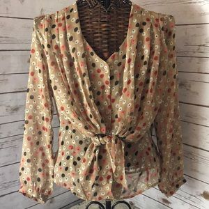 Fall colored blouse